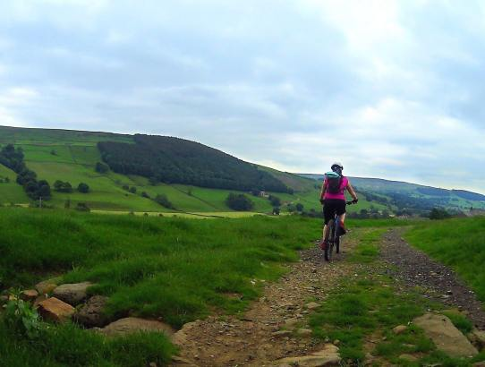 Mountain Biking the Nidd Valley Circular in Nidderdale