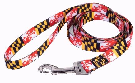 Key Chain//Mini Lanyard Maryland Flag Pattern