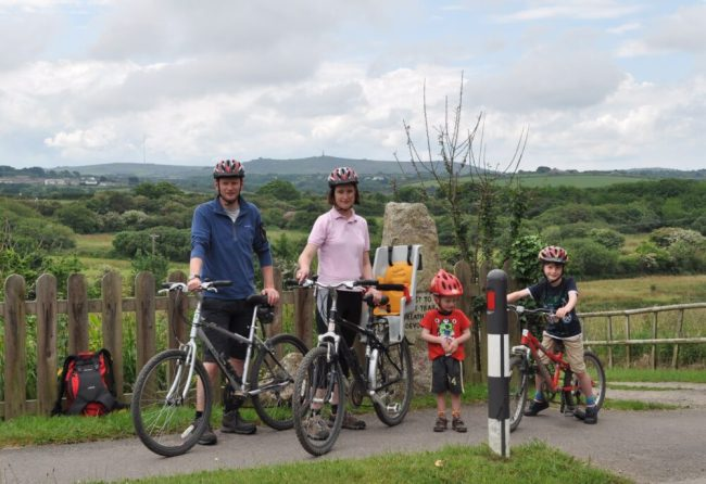 The Cycle Sprog family in 2012