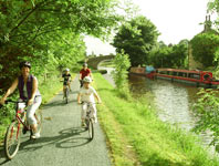 Family cycle routes in Lancashire - Pendal family cycling