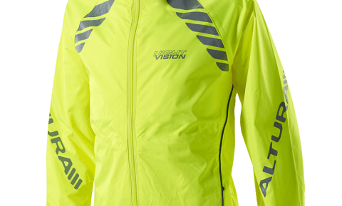 Altura kids winter cycling jacket - yellow