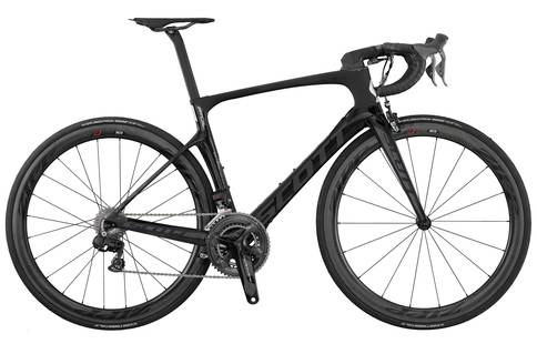gift ideas for dads that cycle - Scott Foil Premium 2017 road bike black