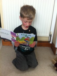 Children's reading books about cycling