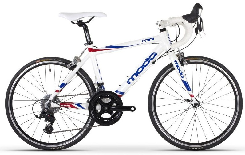 The best road racing bikes for kids with 20 inch wheels - the Moda Mini is sadly difficult to get hold of these days