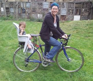 Polisport Koolah rear bike seat review