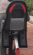 Polisport Guppy bike seat for kids