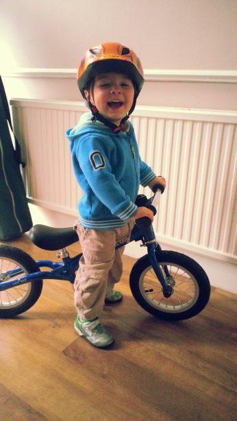 Like a bike balance bike