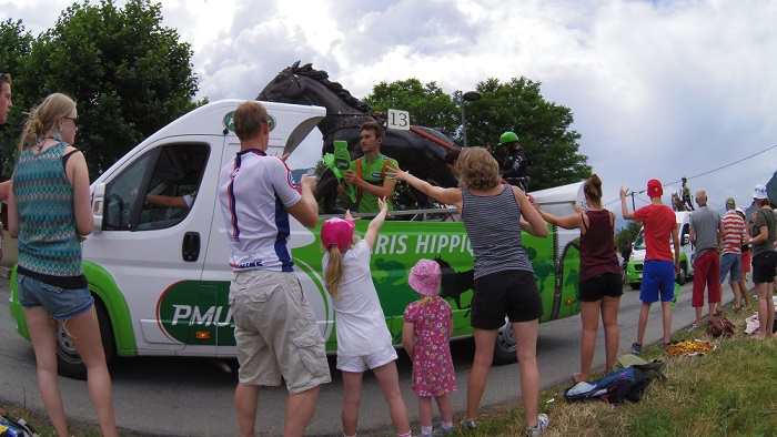 Tour de France family holiday - the Tour de France caravan