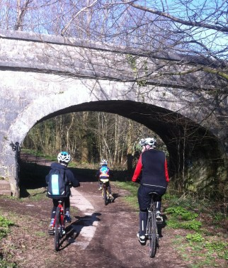 Family Cycle Ride 1