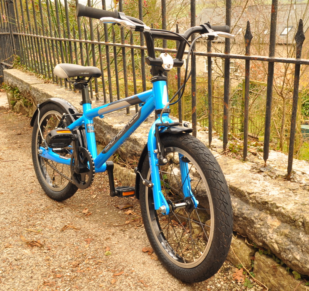 How to sell a kids bike on ebay - finished article