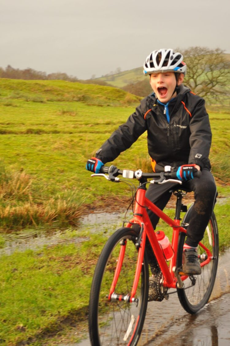 Islabike Beinn review - having fun!