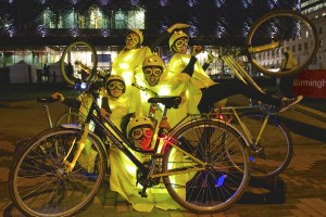 Bicycle Ballet - strictly night cyciling