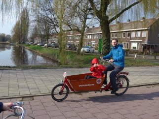T in the Cargo Bike