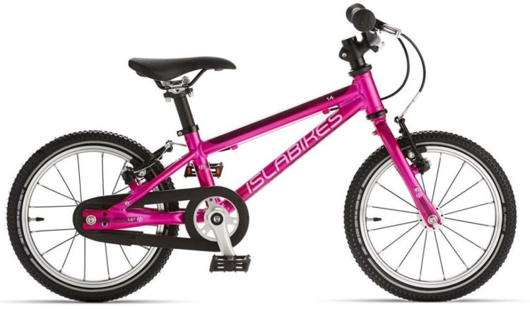 Islabikes Cnoc 14 Small is the smallest kids bike for a 3 year old or 4 year old boy or girl