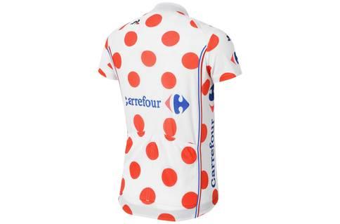 Kids Tour de France King of the Mountains jersey 2017 - rear view KOM