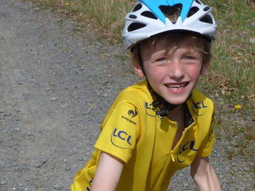 Our 7 year old Frog Road 58 kids bike reviewer
