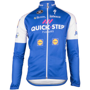 2017 Quick Step Floors Kids long sleeve cycling jersey