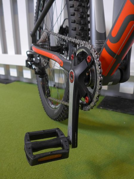 The Islabikes Creig Pro Series come with specially designed cranks