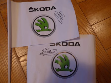 Signed Bradley Wiggins flags