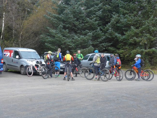 British Cycling Mountain Bike Camp at Gisburn Forest