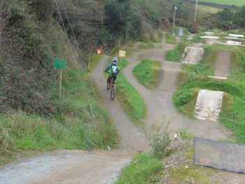 The Track Family Cycle Park at Portreath, near Redruth in Cornwall