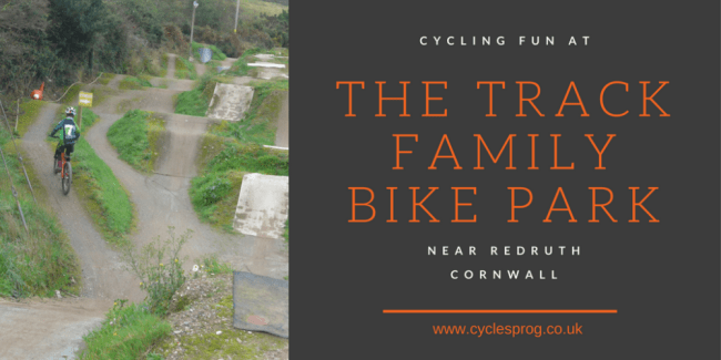 The Track Family Cycling Park at Redruth, Cornwall