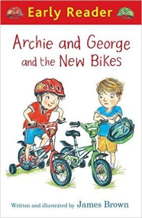 Early readers book about cycling