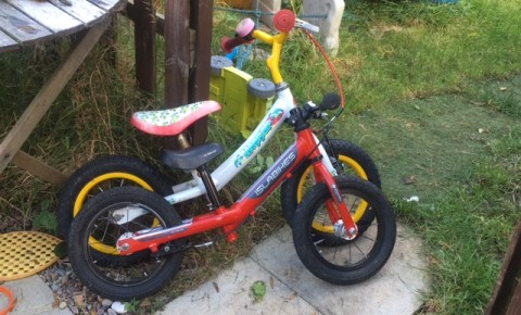 Claud Butler and Islabikes balance bikes