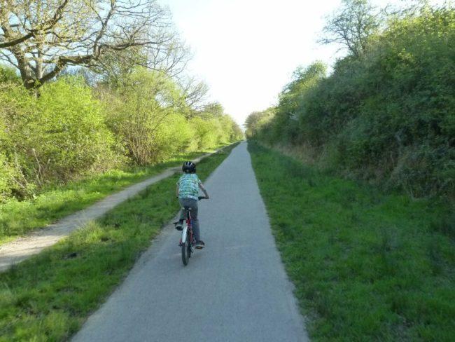 Cuckoo Trail cycle path
