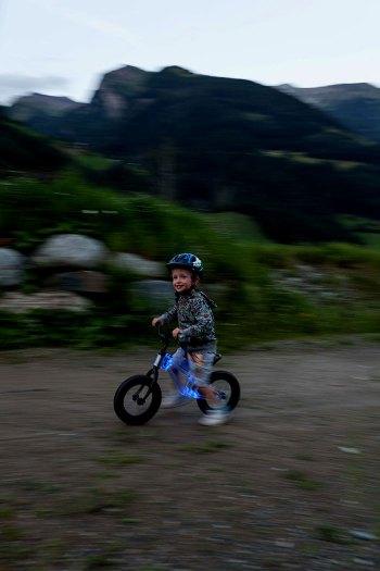 Phantom Ride - a light up balance bike