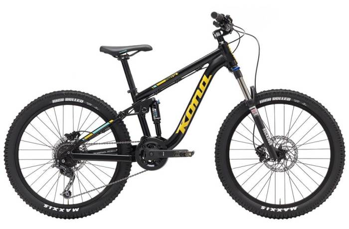 best mountain bike gifts for kids - Kona Stinky 24 2017 model