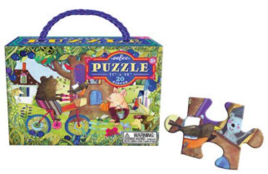 Cycling bear jigsaw