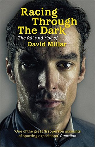 gift ideas for dads that cycle - David Millar book Racing through the dark