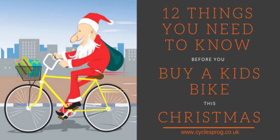 12 things you need to know before buying a kids bike this Christmas