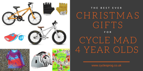 The best Christmas presents for cycle mad 4 year olds