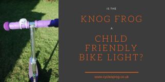 Is the Knog Frog a child friendly bike light?
