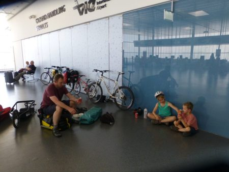 How to take your kids and bikes on a plane