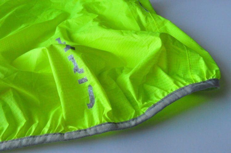 Polaris Strata kids waterproof cycling jacket reflective trim