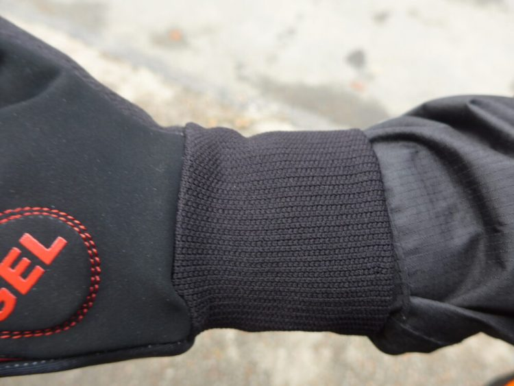 Polaris Mini Attack kids winter cycling gloves - cuff