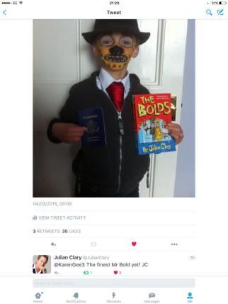 World Book Day - Mr Bold