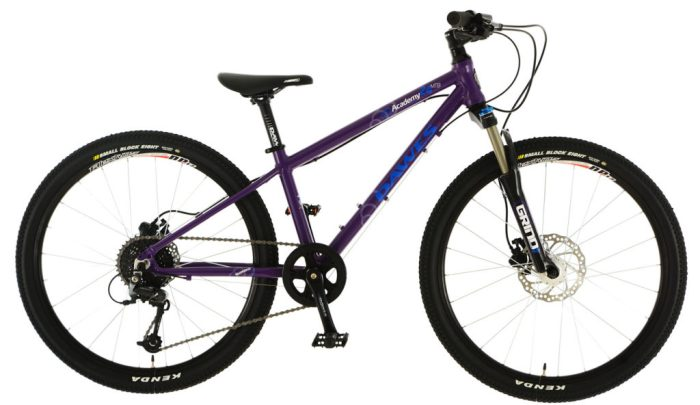 "kids 24"" wheel mountain bikes - Dawes Academy 24 MTB in purple"