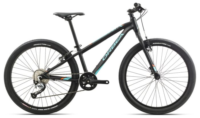"kids 24"" wheel mountain bikes - Orbea MX24 Team Disc in black"
