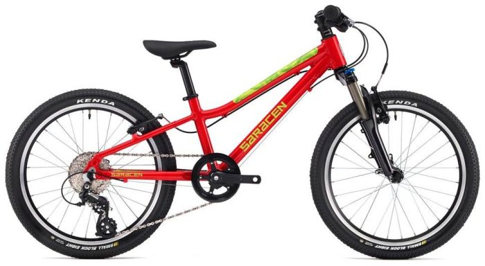 "Best kids 20"" wheel mountain bikes - Saracen Mantra 2.0"