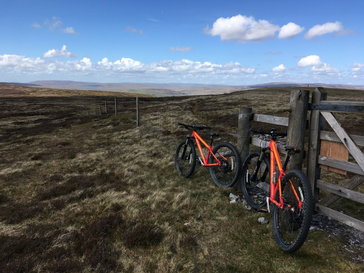 Islabikes Creig in the Yorkshire Dales