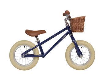 Bobbin Moonbug balance bike in blueberry is new for 2017