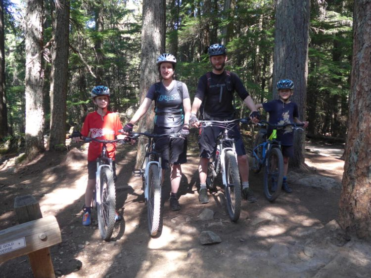 Our family cycling holiday