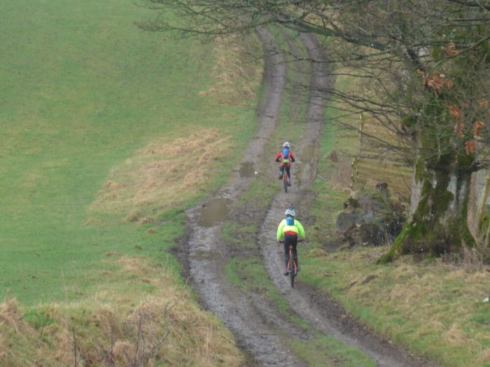 Mountain biking with kids can be an all year round adventure