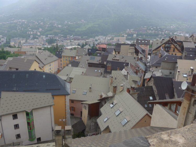 The roof tops Briançon