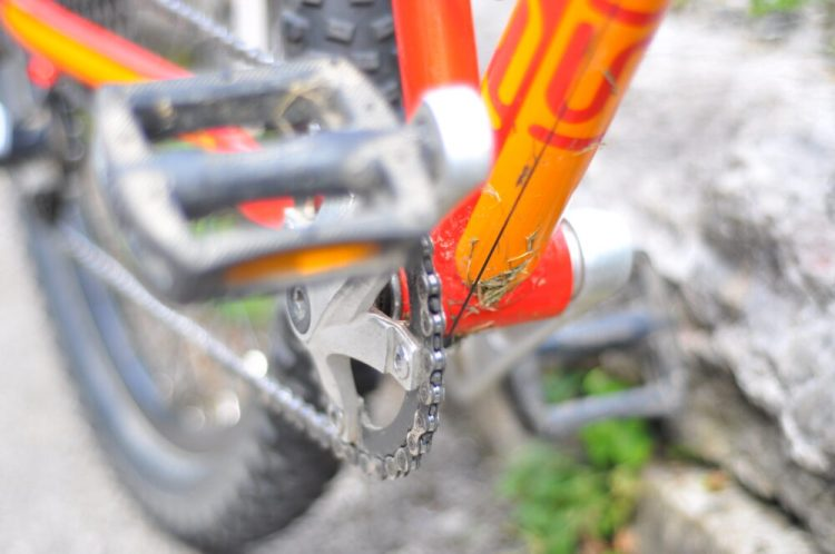 Review of the Islabikes Creig Mountain Bikes for kids - single front chainring