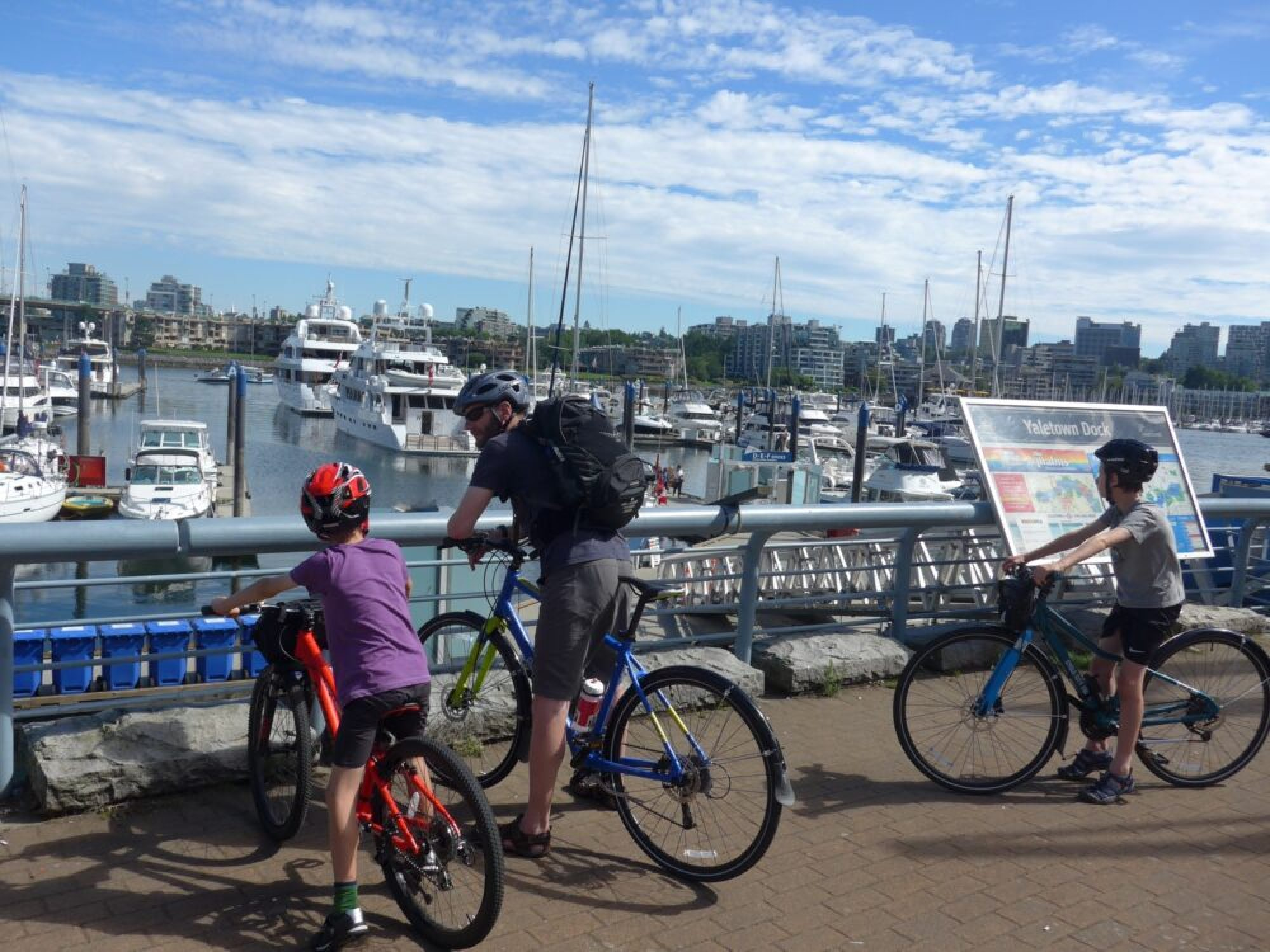 Cycling the Vancouver City Waterfront